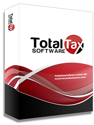 Total Tax Software   Professional software created with